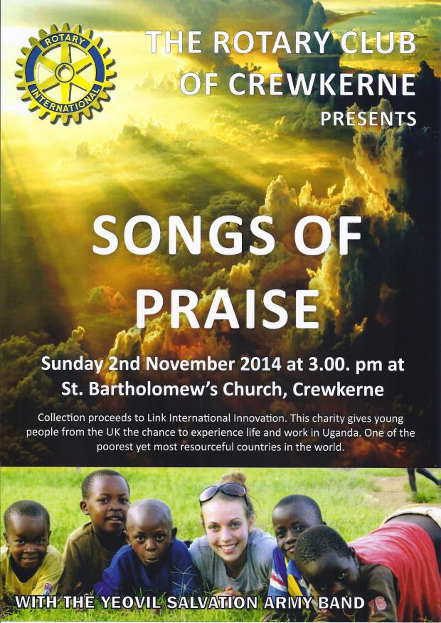 Crewkerne Songs of Praise