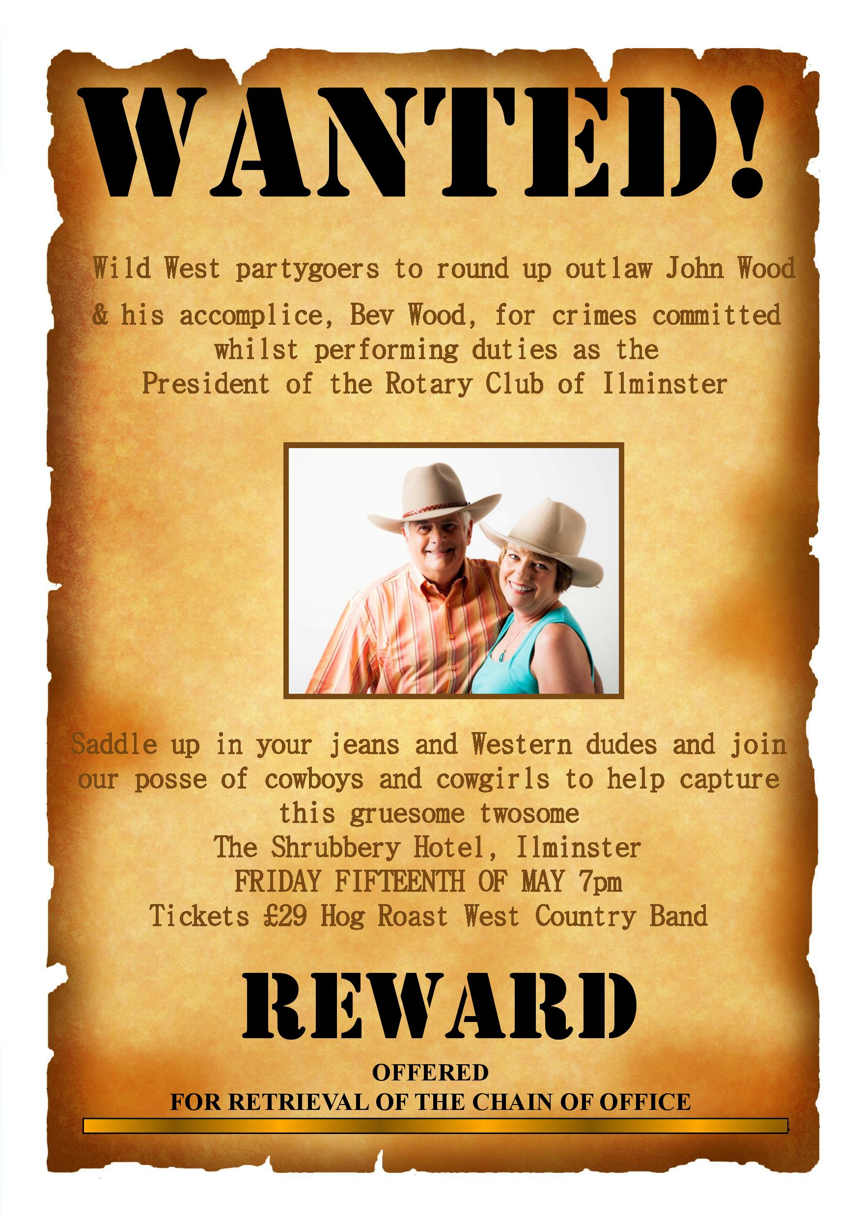 Wanted Poster Template (2) Page 001  Missing Reward Poster Template