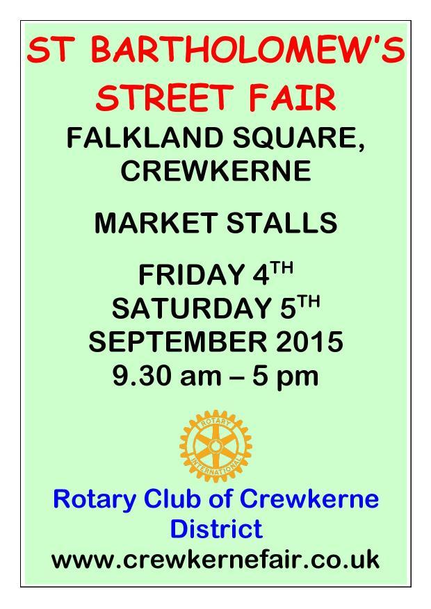 Crewkerene Street Fair