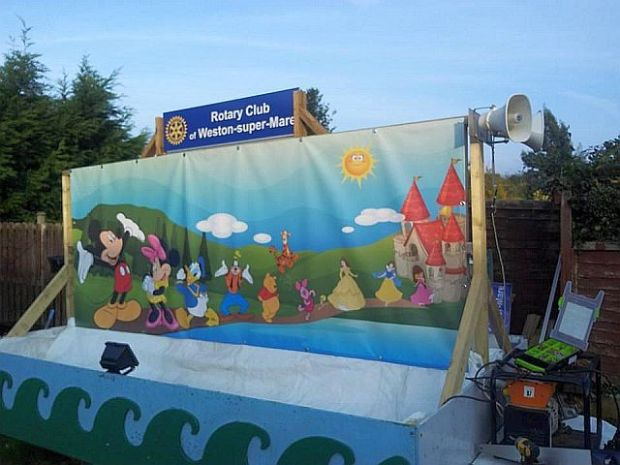 Rotary Carnival Float