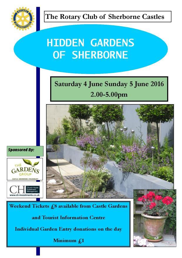 Hidden Gardens Poster 2016
