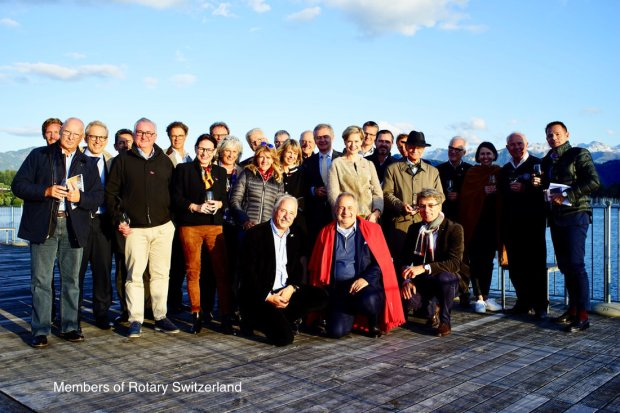 Members of Rotary Switzerland