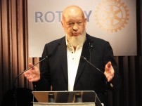 Michael Eavis who opened the event.
