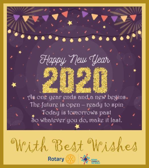 Rotary New Year 2020